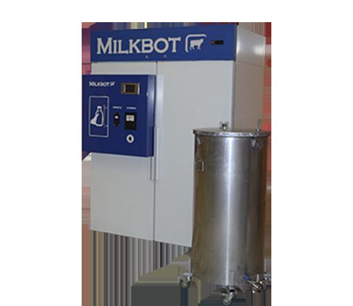 Молочный автомат модели MilkBot 400 KM1