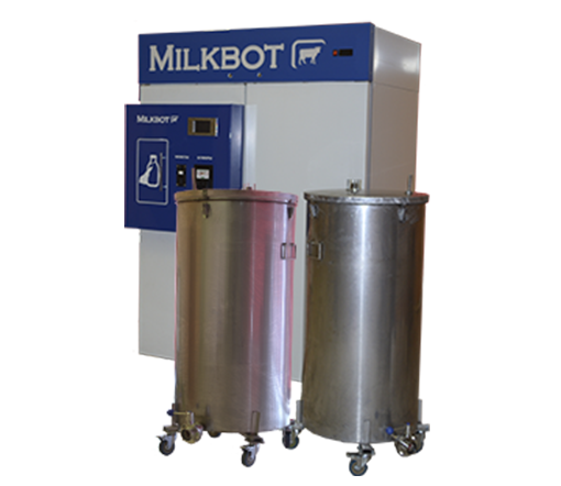 Молочный автомат модели MilkBot 400 KM2